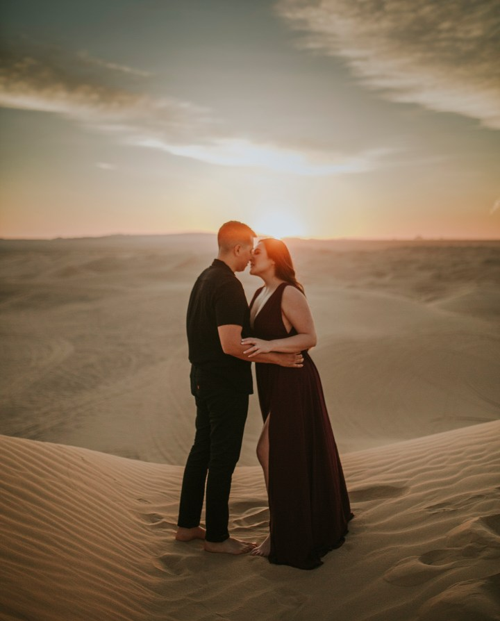 about to couple at imperial sandunes