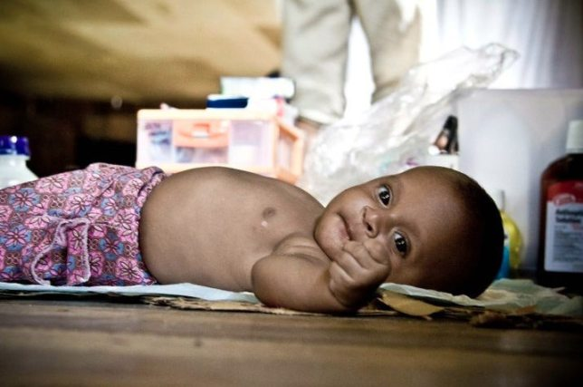 bloggers for birth kits baby from papua new guinea