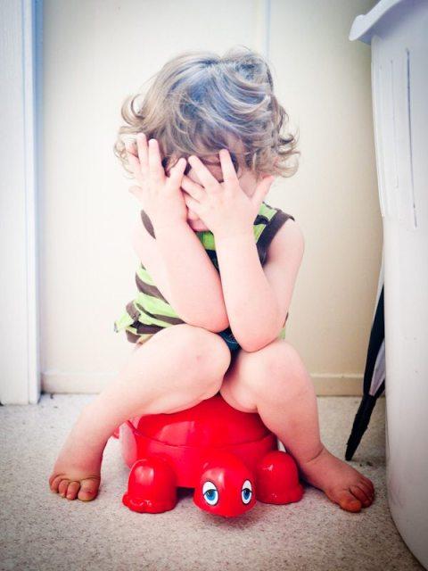 little boy potty training