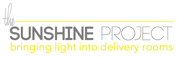 The Sunshine Project: Bringing light into the delivery room | www.loveamama.com