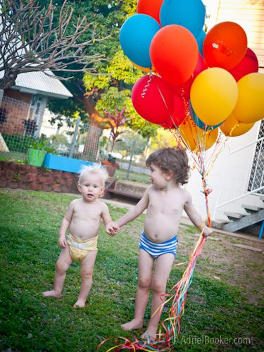 Judah's First Birthday Circus Party-41