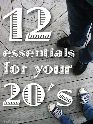 Great, practical advice for your twenties. Epecially for Christian young people.