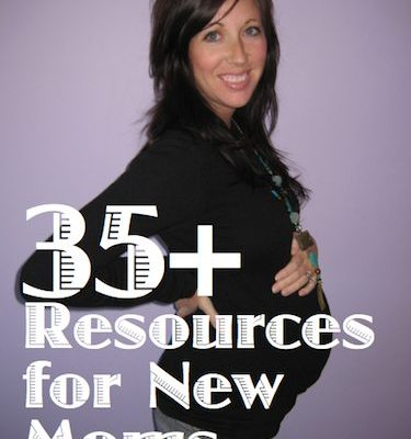 Tons of resources for new moms and moms-to-be.