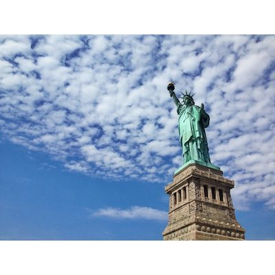 travel without kids - statue of liberty