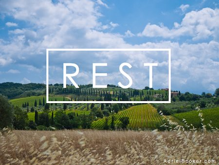 The Work of Rest - Cultivating the art of Selah in a restless heart