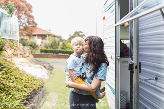 Tiny house, big love- life in our renovated vintage caravan — Adriel Booker-38