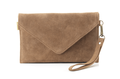 Christmas Gift Guide to Empower Women—JOYN Suede Clutch