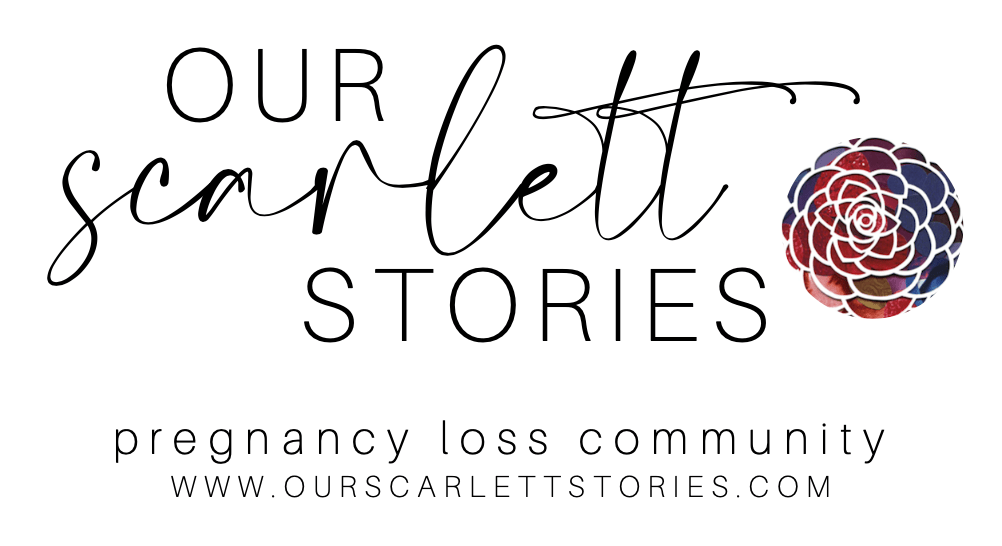 Our Scarlett Stories pregnancy loss community