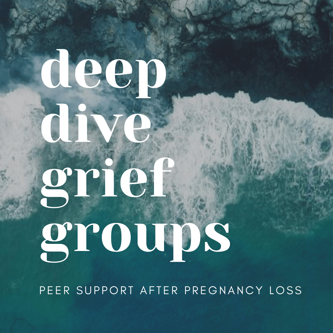 Deep Dive Grief Groups : Peer support after pregnancy loss with Our Scarlett Stories Community and Adriel Booker