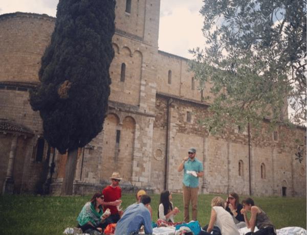 Tuscany Writers Retreat 2014 picnic
