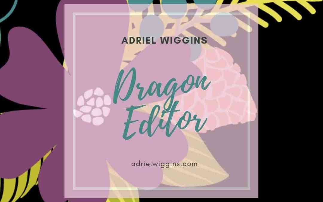 Dragon Editing: Making Voice-to-Text Manuscripts Editable