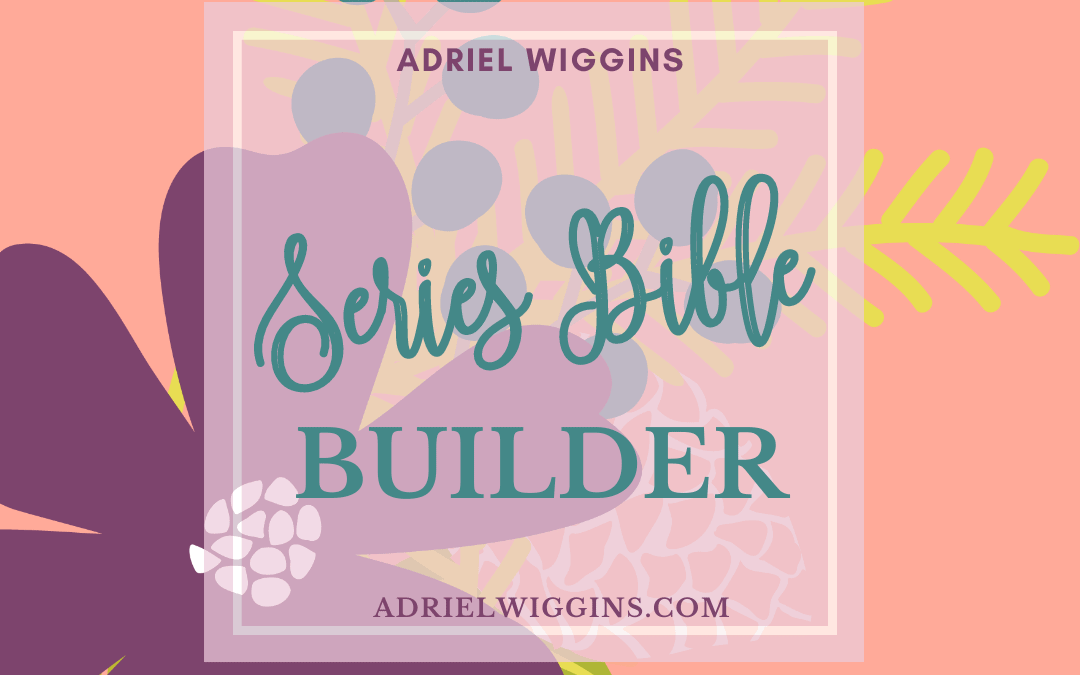 Series Bible Builder