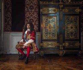 Louis XIV dans sa chambre