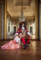 Louis XIV et la duchesse de La Vallière