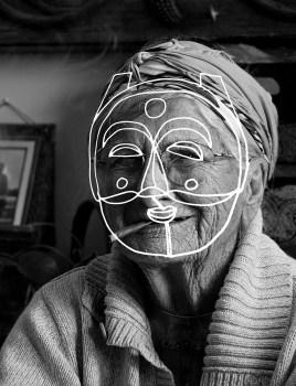 Mobilité sémantique, masques rituels, révélateurs, 2014