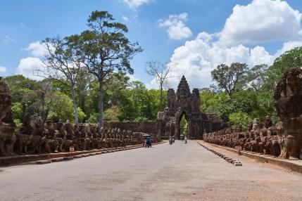 Entrance to Bayon Temple