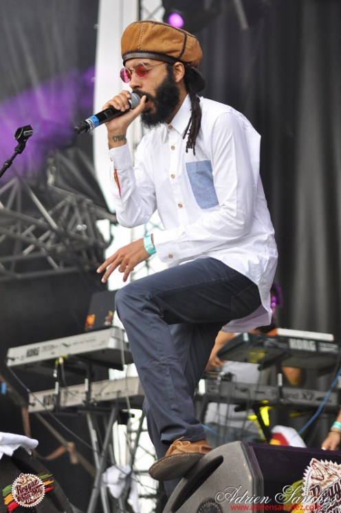 Photo Reggae Sun SKA 2014 Bordeaux RSS17 photographe adrien sanchez infante Protoje The Indiggnation (17)