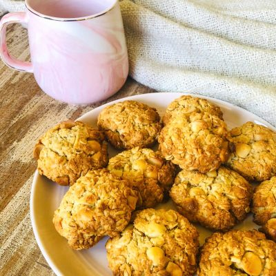 Coconut & Macadamia Cookies