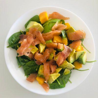5 Minutes Healthy Lunch – Mango & Avocado Salad