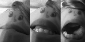 chin face