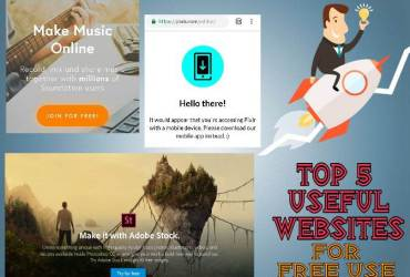 Top 5 Free Useful Online Computer Softwares And Tools