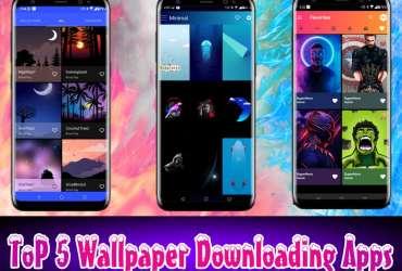 Top 5 Best HD Wallpaper Downloading Apps