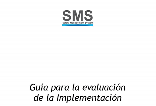 Documento ANAC para implantación de sistema SMS, Safety