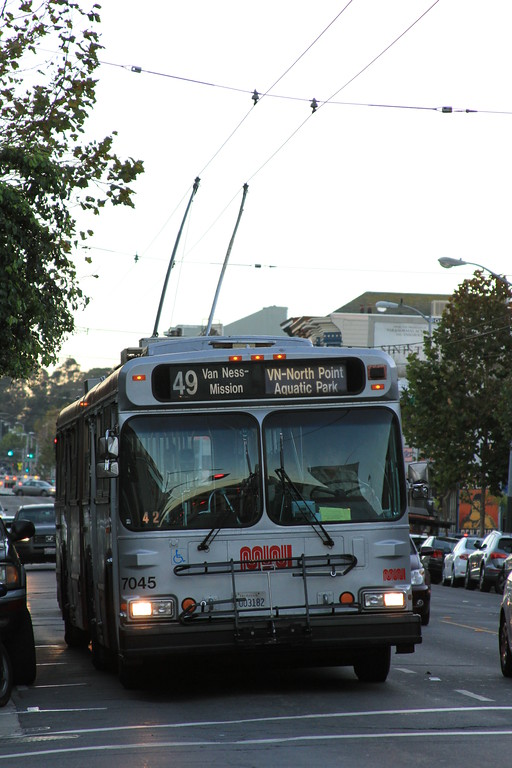 Route #49 Trolley Bus