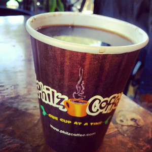 Phils Coffee, a staunch cup indeed!