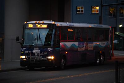 Sound Transit #590 Heading to Tacoma