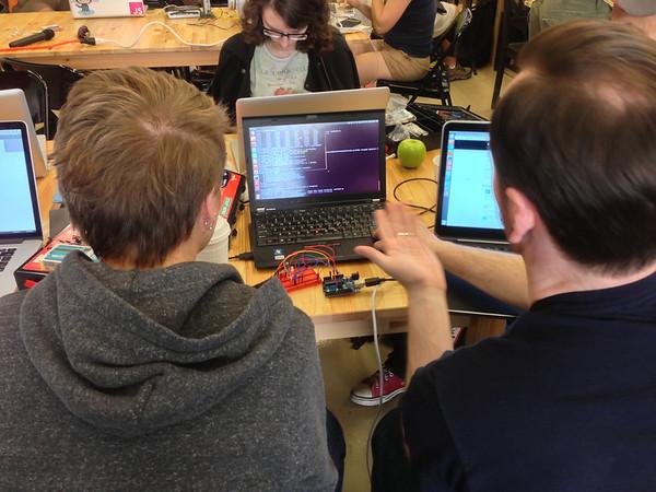 Codez! Arduino! Wires! Brains!