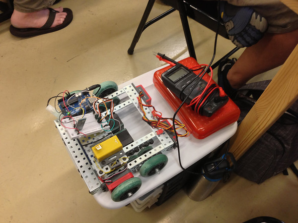Erector Robot