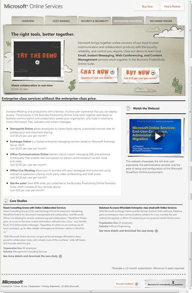 Ahh, a nice looking BPOS Site!!