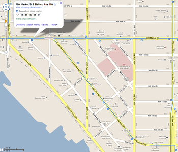 Ballard Transit Options (Click for full size map image)