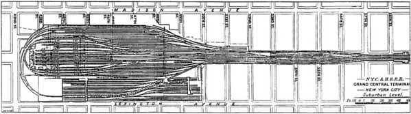 The suburban (as in sub-urban) level of the station. (Click for full size image)
