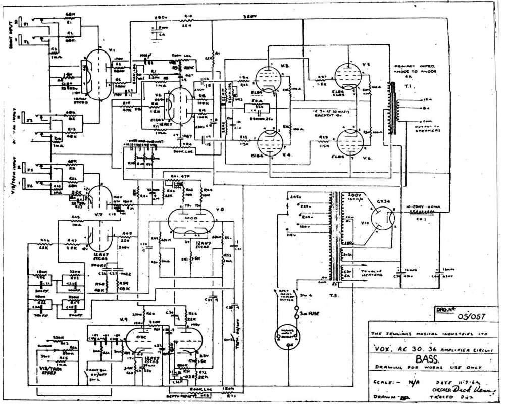 medium resolution of vintage schematics marshall jubilee schematic circuit diagram