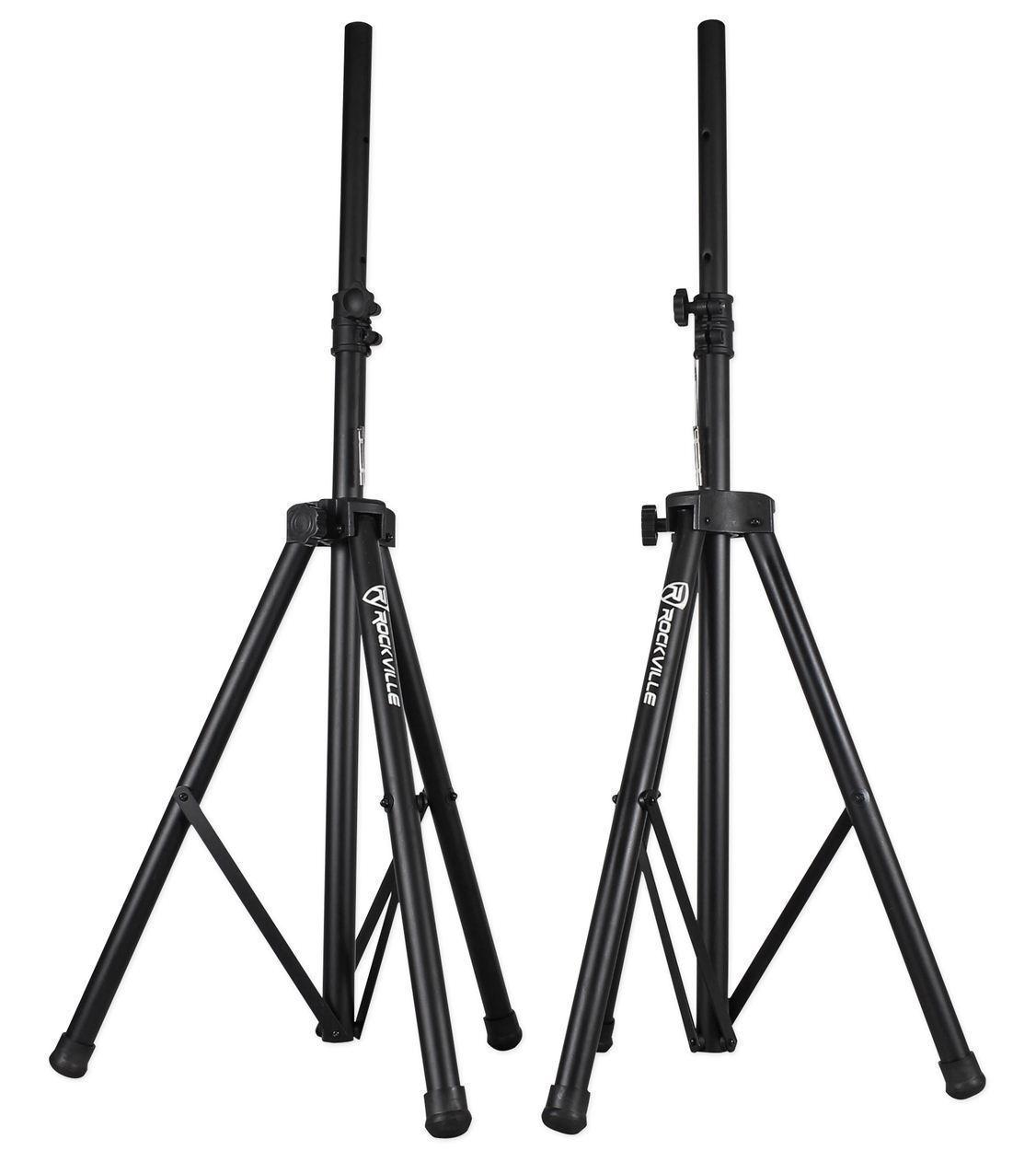 Pair of Rockville Adjustable Tripod Speaker/Light Stands+