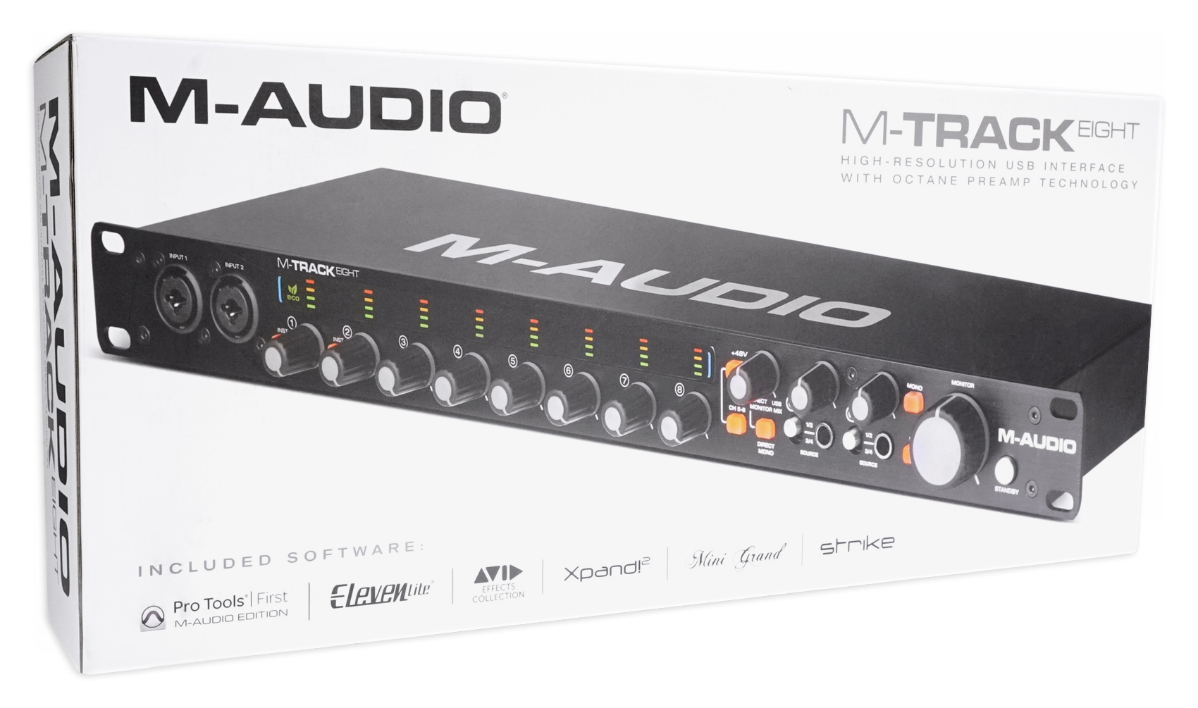 M Audio M Track Eight 8 Usb Audio Recording Interface