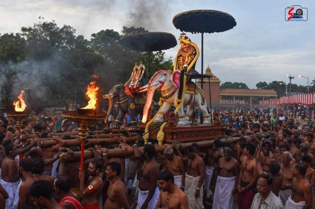 நல்லூர் கந்தசுவாமி ஆலய 9 ம் நாள் உற்சவம் 7