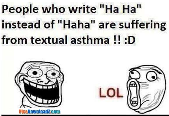 textual asthma funny jokes