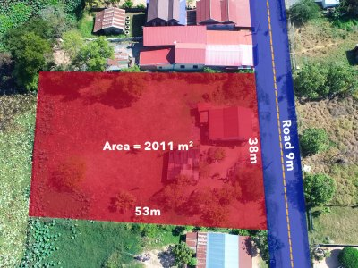 The potential 2011 SQM land for sale @ Kamboul commune