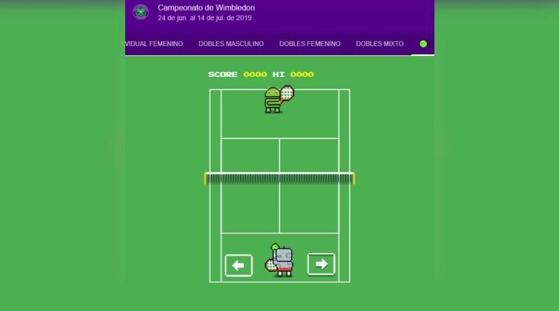 Cómo encontrar el juego oculto de tenis que Google ha creado por Wimbledon