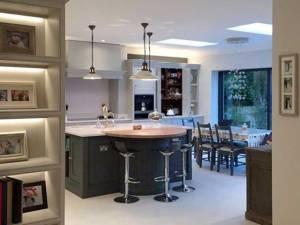 Kitchen Lighting And Shelf Watford