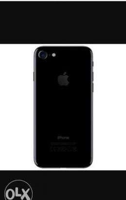 I phone 7 matte black