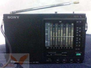 راديو سونى يابانى حالة ممتازة موديل ICF-7600 موجة 12