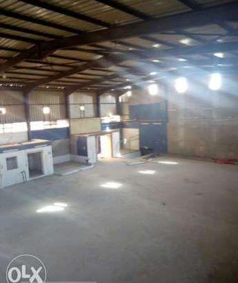 مصنع للايجار 3000متر غذائي جاملون