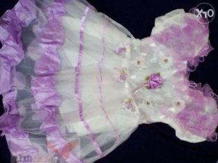 فستان بناتي جديد