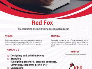 شركة ريدفوكس للدعاية والإعلان