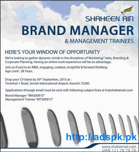 How to Apply Jobs of Shaheen Air Karachi Jobs 2015 for