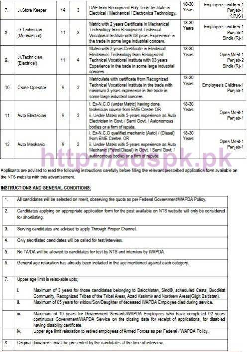 nts-new-career-excellent-jobs-chief-engineer-om-power-3-hhps-wapda-besham-written-test-syllabus-jobs-last-date-20-10-2016-by-nts-2